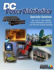 DC SMARTStart Catalog - Power Solutions by API Technologies