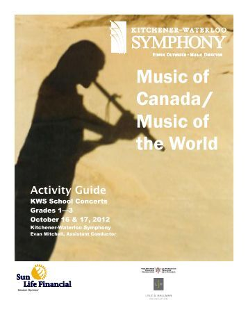 Music of Canada/ Music of the World - Kitchener-Waterloo Symphony