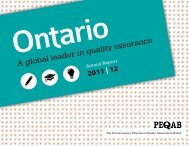 Annual Report 2011|2012 - Postsecondary Education Quality ...
