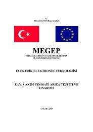 elektrik elektronik teknolojisi zayıf akım tesisatı arıza tespiti ve onarımı