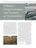 Erdbeben, Hangrutschungen und Tsunamis an ... - Marum - Seite 2