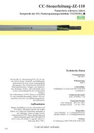 CC-Steuerleitung-JZ-110 - ConCab kabel gmbh