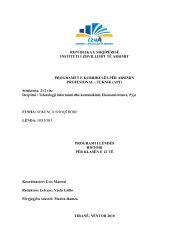 programi i lëndës: histori-kl.12 - Instituti i Zhvillimit te Arsimit