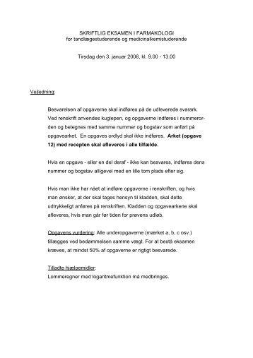 gode råd dansk skriftlig eksamen