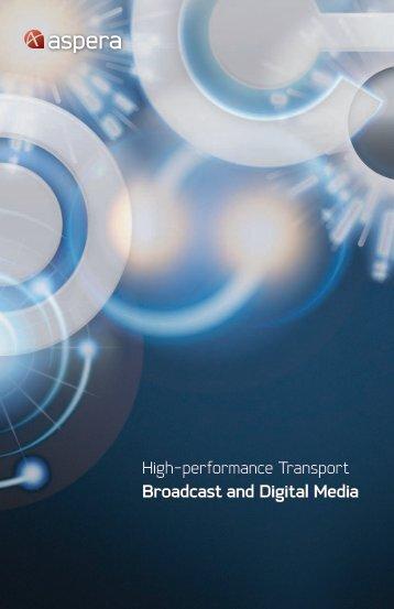 Aspera for Digital Media brochure