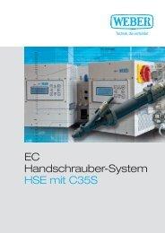 EC Handschrauber-System HSE mit C35S - Weber Schraubautomaten