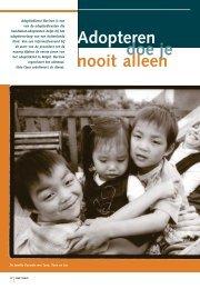 De adoptiedienst als bemiddelaar - Weliswaar