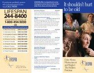 Elder Abuse brochure 2003 - Lifespan