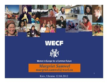 "download a presentation ""wsp-ukraine"" - WECF"