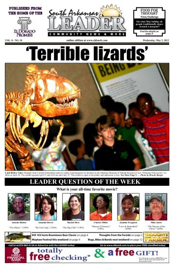 leader question of the week - 1 Website for all that is El Dorado ...