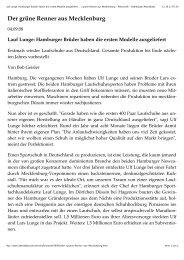 Lauf Lunge: Hamburger Brüder haben die ersten Modelle ausgeliefert