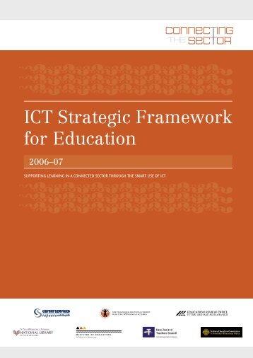 ICT Strategic Framework for Education - Teacher Training materials ...