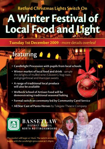 Retford Xmas Flyer.indd - Bassetlaw District Council