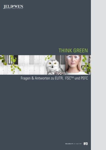 THINK GREEN - JELD-WEN Türen