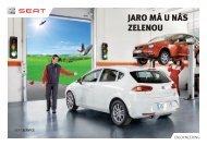 Jarní akční nabídka SEAT - Porsche Hradec Králové
