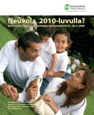 Neuvola 2010-luvulla? - Kymenlaakson ammattikorkeakoulu