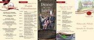 Kulinarischer Kalender - Hotel Landhaus Seela