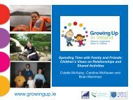to view - Growing Up in Ireland