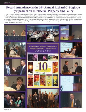 Intellectual Property Symposium and Council - University of Akron ...