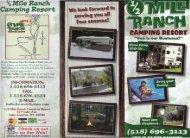 % Mile Ranch Camping Resort