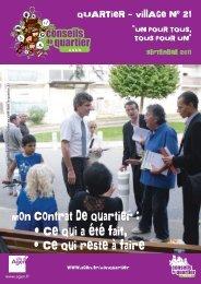 Quartier-village 21 - Ville d'Agen