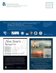 The Bulletin from Johnny Cake Hill, Fall 2011 - New Bedford ...