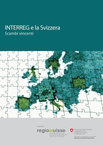 INTERREG e la Svizzera – Scambi vincenti - Regiosuisse