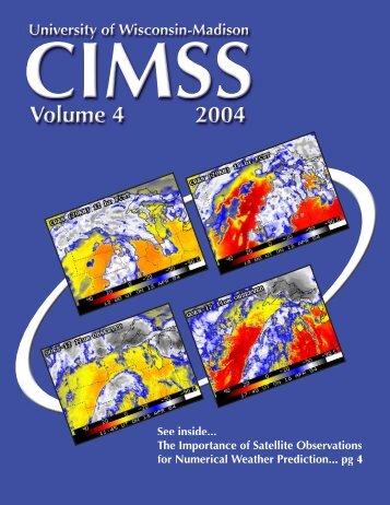 Volume 4 - Cooperative Institute for Meteorological Satellite Studies ...