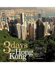 Three Days in Hong Kong