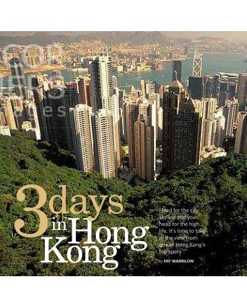Three Days in Hong Kong