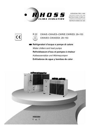 H50384-v01 Manuale Istr. CWA-CWR 29-153 - Rhoss