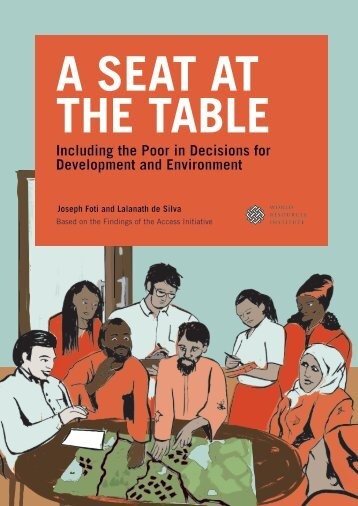 A Seat at the Table - World Resources Institute
