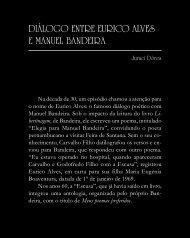 Diálogo entre Eurico Alves e Manuel Bandeira - Légua & meia