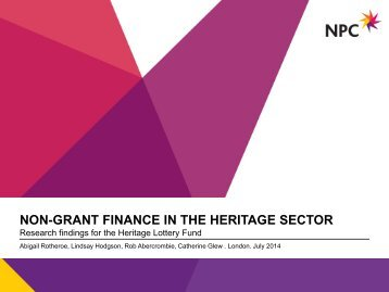 Non-Grant-Finance-Heritage-Sector-2014