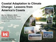 Coastal Adaptation to Climate Change: Lessons from America's ...