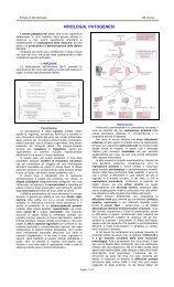 VIROLOGIA: PATOGENESI - Sezione di Microbiologia