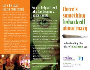 Whacked Brochure - Canadian Mental Health Association, Toronto ...