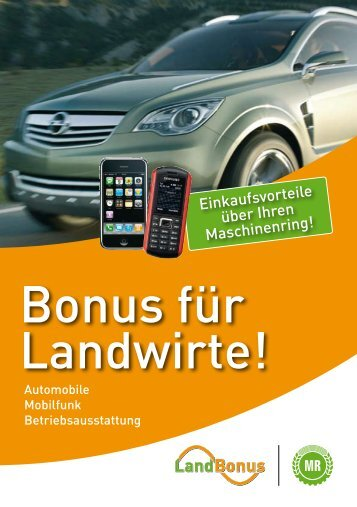 Betriebsausstattung - Maschinen- und Betriebshilfsring Unterland e. V.