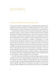 Editorial: El moviment ant-Bolonya i desprès: què hem après?