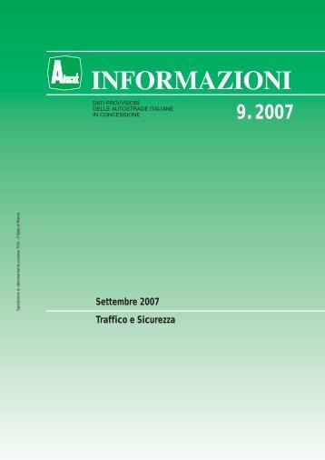 n.09 - settembre 2007 .pdf (500 Kb) - Aiscat