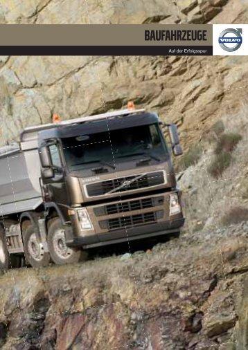 Volvo Trucks im Bauverkehr - Haas Nutzfahrzeuge