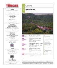 Mayis-2007 baris.indd - Türkiye Seyahat Acentaları Birliği