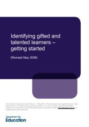 Identifying gifted and talented learners – getting started - GT Voice