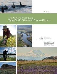 The Biodiversity Scorecard - Washington State Recreation and ...