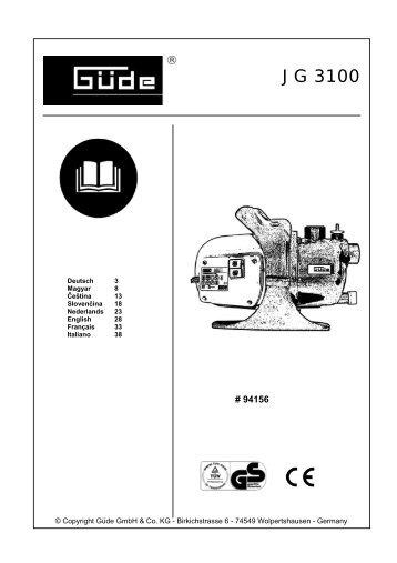 JG 3100 - Steiner Shopping GmbH