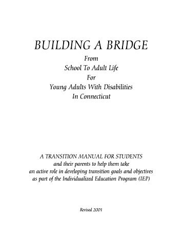 Building a Bridge from School to Adult Life for Young Adults with ...