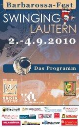 swing programm 2010_kv.indd - Kaiser in Lautern ...