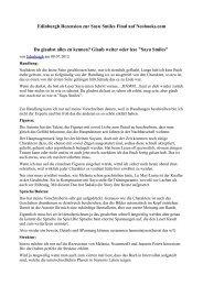 Edinburgh Rezension zur Sayu Smiles Final auf Neobooks.com Du ...