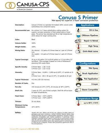 Canusa S Primer - Canusa-CPS