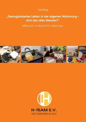 H-TEAM E.V. - Förderverein zur Erforschung des Messie-Syndroms ...